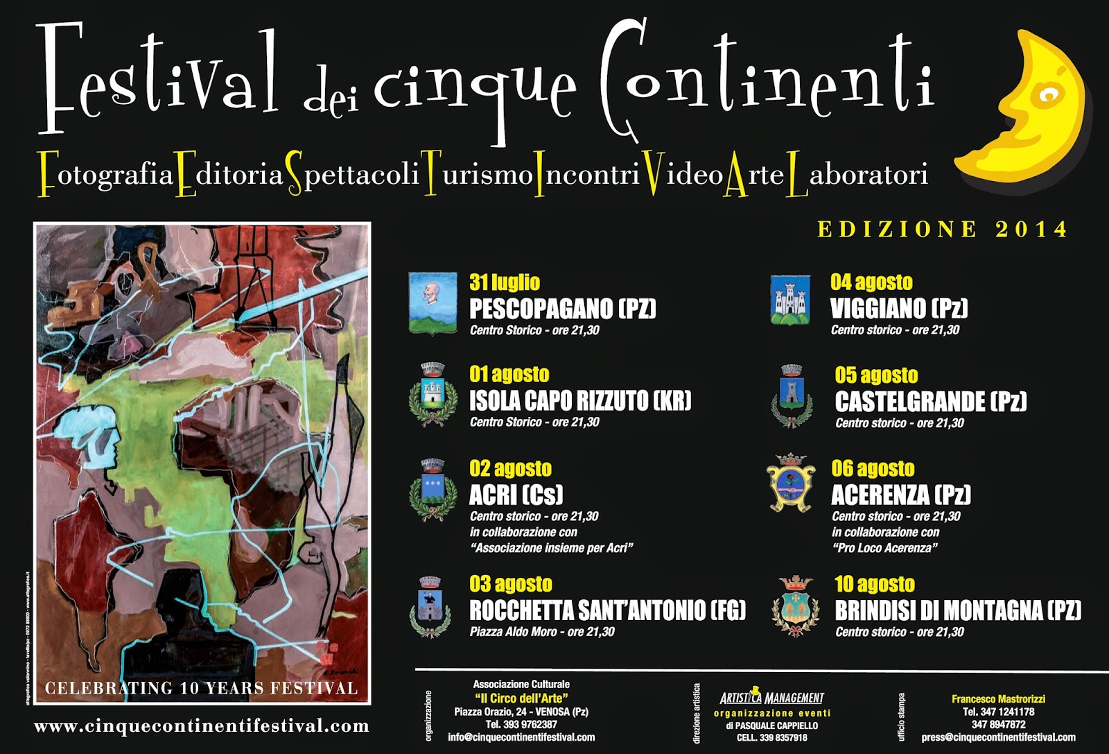Festival dei cinque Continenti - Decima edizione